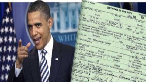 Hawaii Elections Official Signed Sworn Affidavit That Obama Long Form Birth Certificate Doesn't Exist : Freedom Outpost...7/21...more>   video>