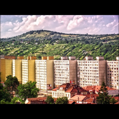Miskolc, Hungary - I lived in one just like this when I was a baby