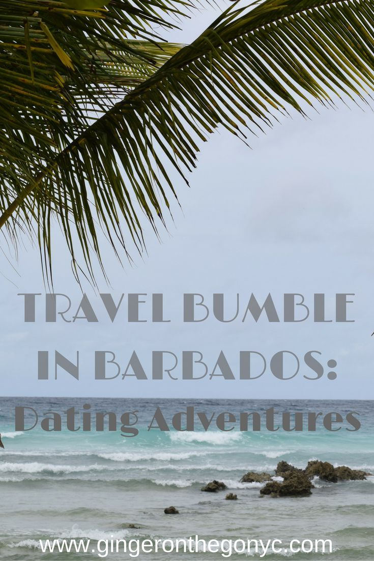 My adventure in using travel Bumble, the dating app where women initiate conversations, on the island of Barbados in the Caribbean.
