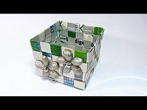 Como hacer una caja con Tetrabrik