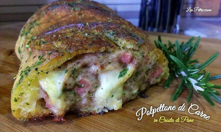 Il Polpettone in Crosta di Pane Aromatizzata è un secondo particolare e veramente molto gustoso, che si realizza con pochie sempliciingredienti!