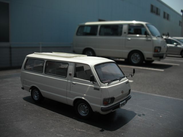TOYOTA HIACE H20 | scale model car