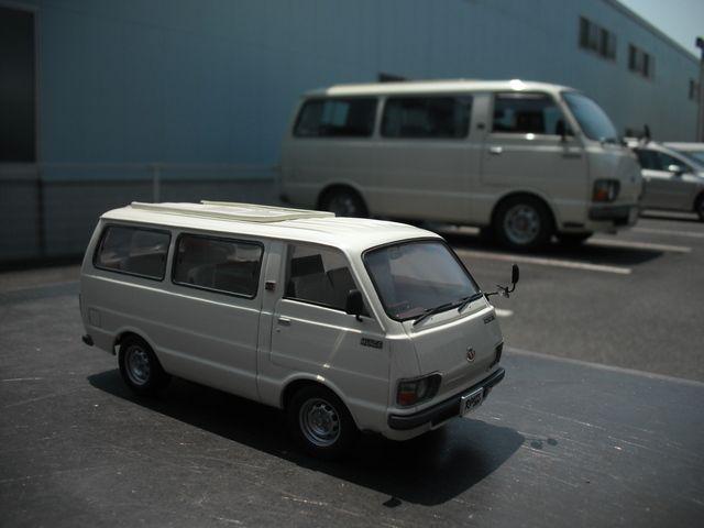TOYOTA HIACE H20 | scale model car