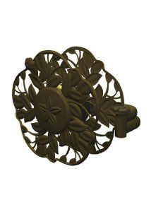 Ames 2397200 Decorative Swivel Wall Mount Hose Reel With Antique Bronze Finish With 100-Foot Hose Capacity by Ames True Temper. $79.97. Decorative design hides hose, yet easy to rewind after use; antique bronze finish. Holds up to 100 feet of 5/8-inch hose (hose not included). Backed by 2-year warranty. NeverLeak water system is 8x stronger than traditional plastic water systems. Swivels out for use and locks back into place; mounts easily on 16-inch centers. From the Manufact...