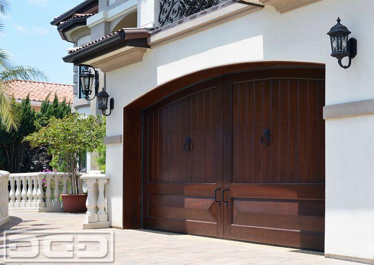 9 best mediterranean style garage doors images on for Southern california custom home builders