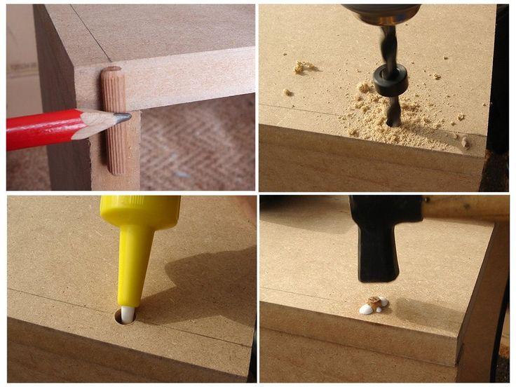 Aprende a realizar el ensamble de tubillones para tus proyectos con madera