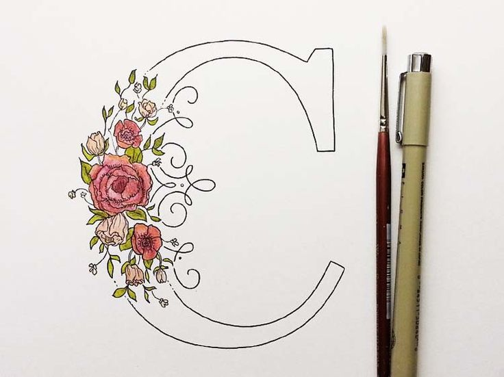 Here's are some floral typography designs that are beautifully blend with flower. These are looking so fine and elegant. Typography considered the most important part of any packaging or appearance...