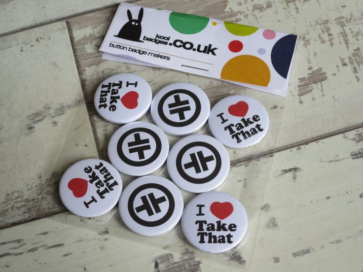 Making lots of Take That badges this week 🎵 🎤 – Music badges