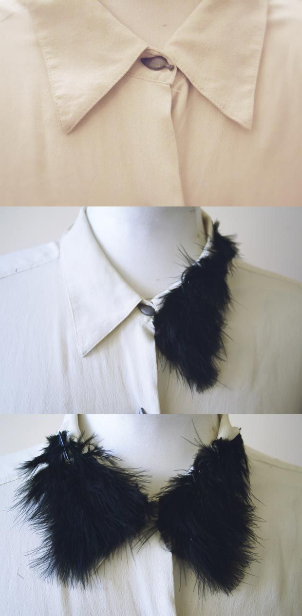 17 Interesting DIY Fashion Ideas (mostly collar/necklaces and accessories)