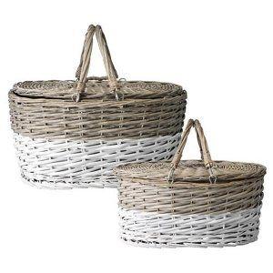 2 cestini da picnic