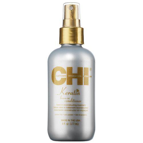 CHI Keratin Leave-in Conditioner 177 ml Reparerende hårkur til tørt hår - Coop.dk