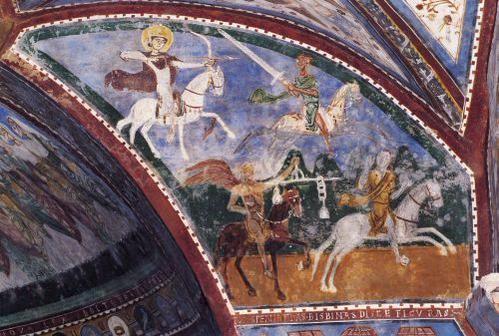 #Apocalisse #Bibbia - Cripta della cattedrale di #Anagni  http://www.gliscritti.it/arte_fede/anagni/apoc_anagn.htm…  #Storia #Arte #QuizzArt