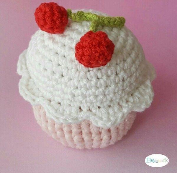 Häkelanleitung cupcake, Geburtstag, Utensilo uvm schnell und einfach häkeln