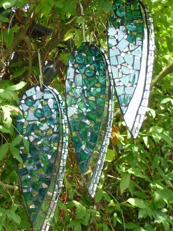 Gallery » Mount Pleasant Gardens, Kelsall, Cheshire  (I love mirrors in the garden)