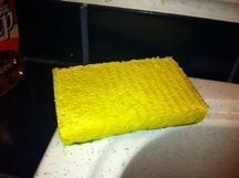 """Bible Object Lesson Using a Sponge - """"When the Squeeze is on!"""""""
