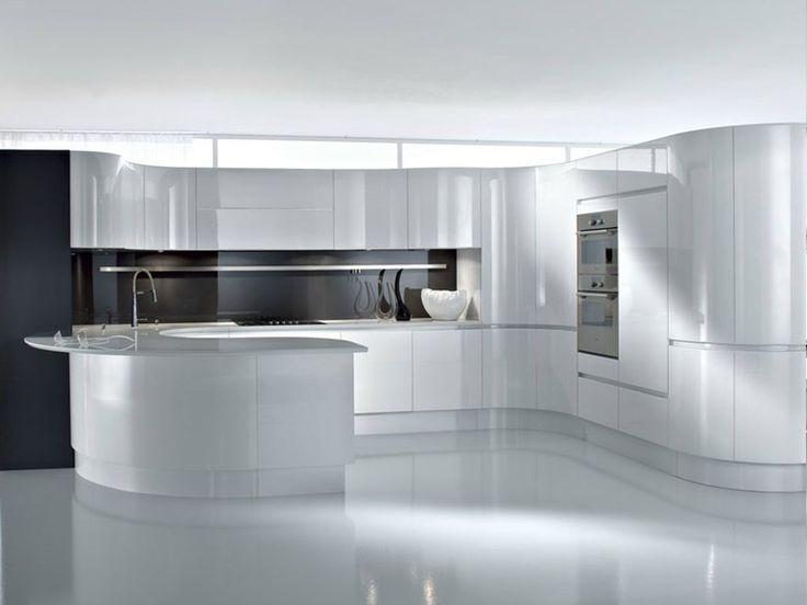 ARTIKA Kitchen with peninsula by Pedini