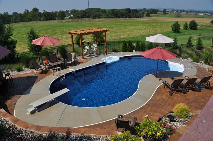 48 best images about vinyl swimming pools on pinterest for Vinyl swimming pool