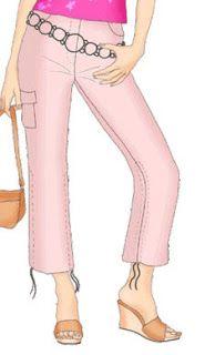 Patrones Talla S de Pantalones | EL BAÚL DE LAS COSTURERAS