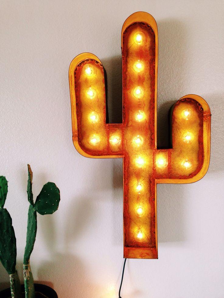Indoor/outdoor cactus lamp | Mojave Moon Design