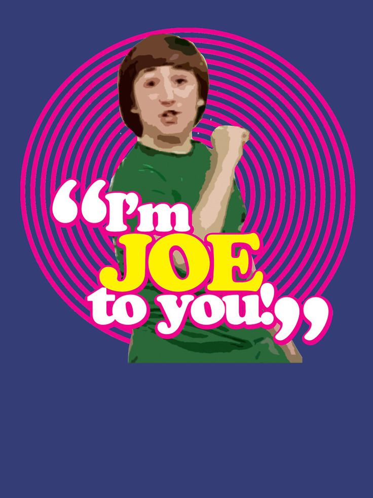 """I'm Joe To You! - Pink Windmill Kids"""" Classic T-Shirts by Grahame ..."""