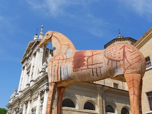 #cavallo di #Paladino - #Ravenna