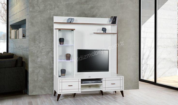 Ada Tv Sehpası #tvstand #familyroom #tv #decoration #home #trend #furniture #pinterest #yildizmobilya http://www.yildizmobilya.com.tr/