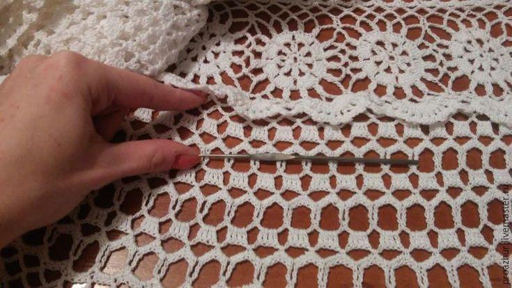 Как укоротить вязанное крючком платье - Ярмарка Мастеров - ручная работа, handmade