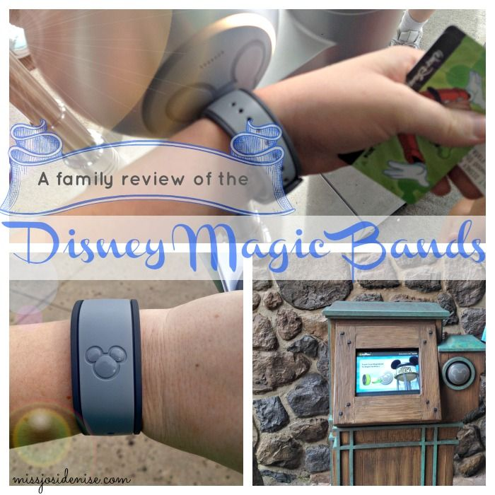 The pros and cons of Disney Magic Bands, and what to expect as a family visiting the the resorts and Disney theme parks wearing them.