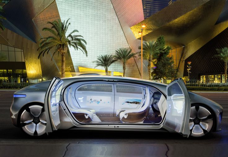 Mercedes-Benz F 015 (interior) (outside)