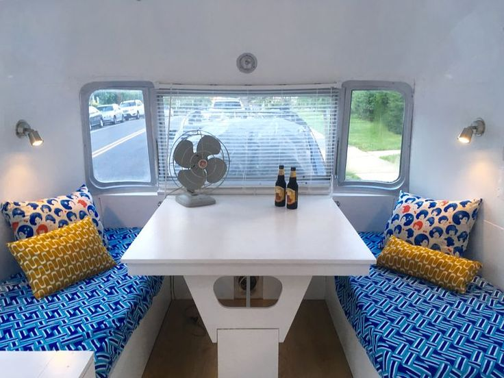A 1972 Airstream Is Transformed Into A Brooklyniteu0027s Colorful Live Work  Space