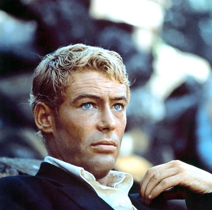 Peter O'Toole in The Lion in Winter (1968).  They just don't make movies like they used to.
