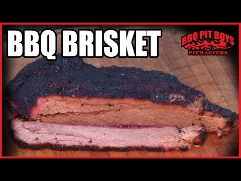 Competition Brisket Recipe - How To Smoke Beef Brisket and Burnt Ends - YouTube