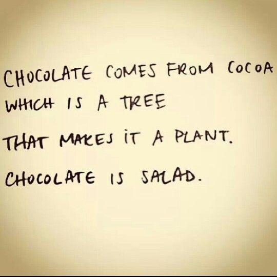 Why to love chocolate