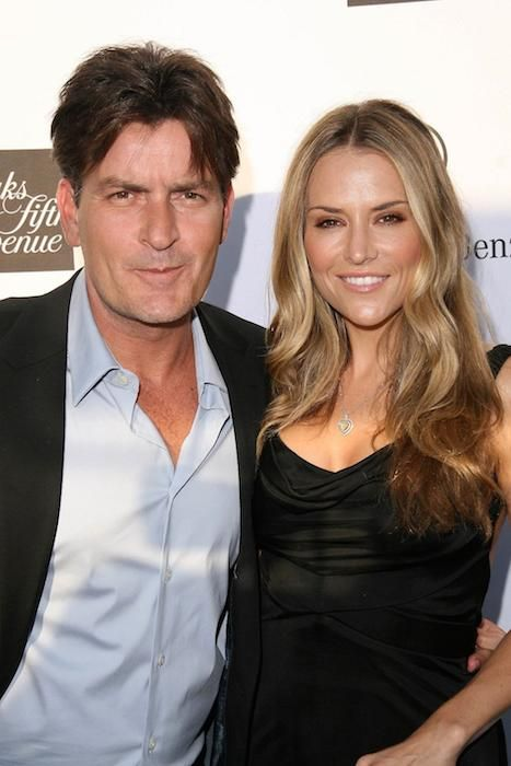 Charlie Sheen and ex-wife Brooke Mueller...