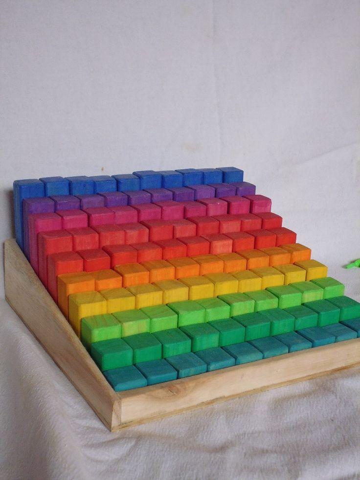 M s de 1000 ideas sobre bloques de madera en pinterest - Arcos de madera para jardin ...
