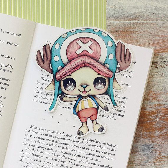 Inspired by Chopper  limited edition bookmark by ribonitachocolat