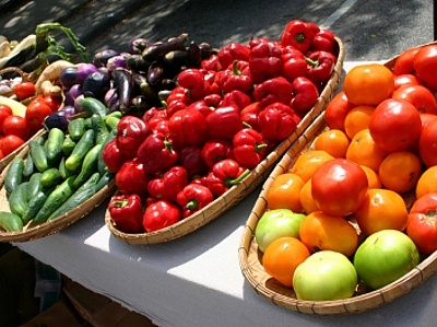 Fruits and Vegetables at the Thunder Bay Country Market