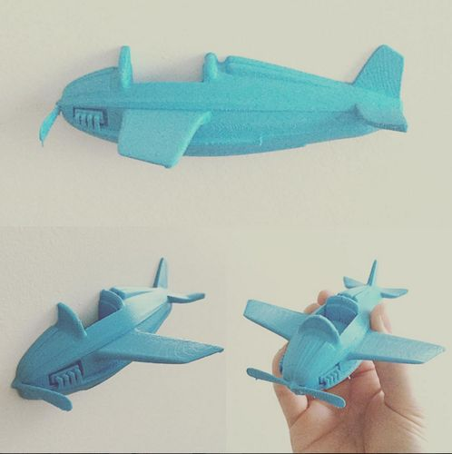 Little plane 3D Print 58081
