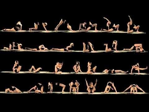 Yoga in motion. Namaste.
