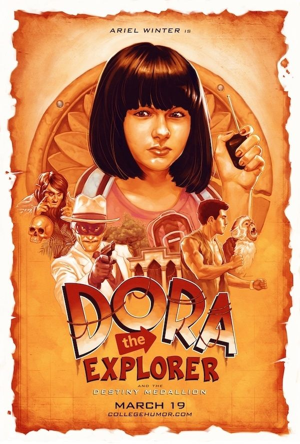 """Ariel Winter is Dora the Explorer! 