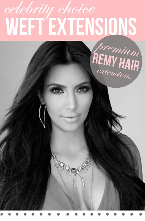 "20"" Celebrity Choice - Weft Hair Extensions 