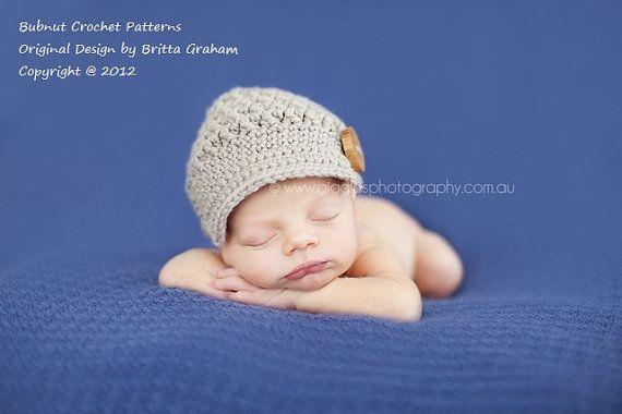 Bubnut Crochet Patterns : Crochet Hat Pattern Unisex Newsboy Crochet Pattern by BBfromOz, $3.98
