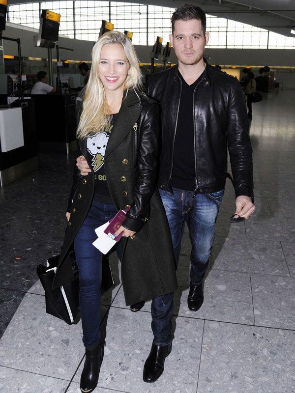 Michael Buble & Wife Luisana Lopilato Expecting ABoy