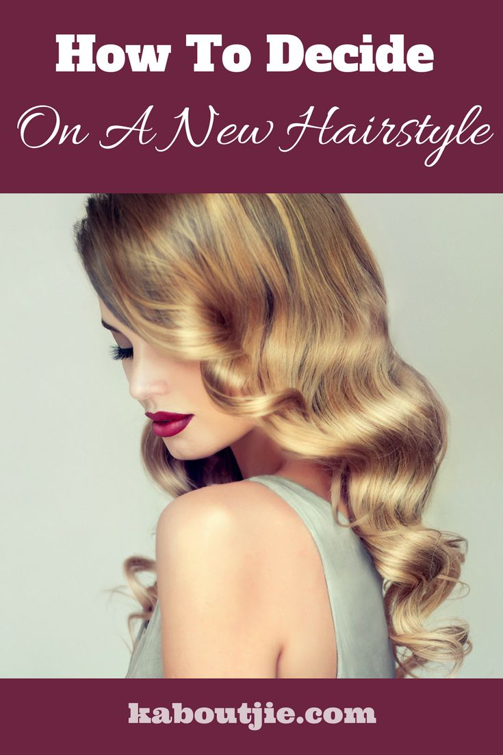 How To Decide On A New Hairstyle  Getting a new hairstyle can make all the difference to how you feel! Here's how to decide on a new hairstyle!    #hair #hairstyle #beauty