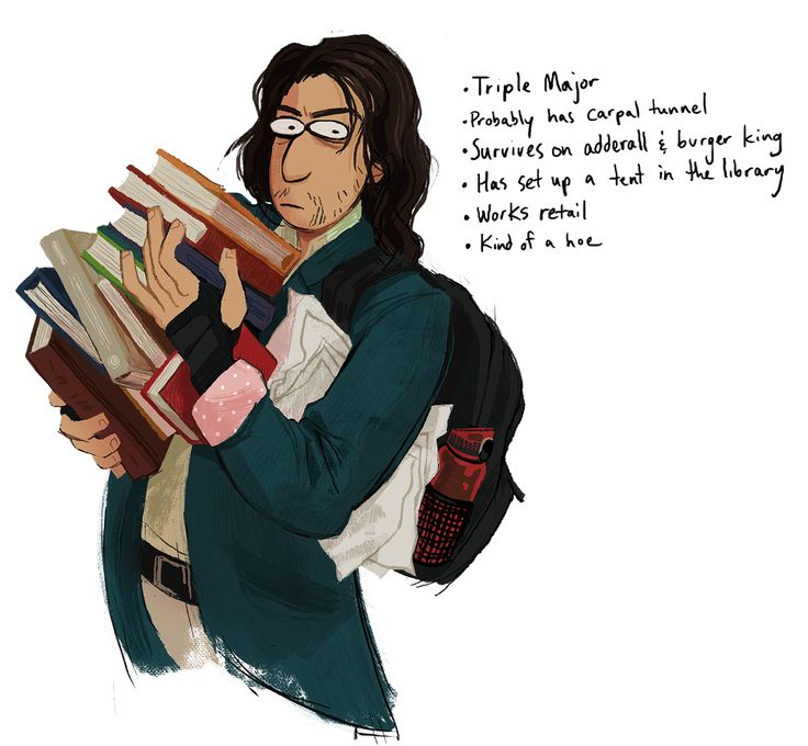 Birdloaf - Alex College AU from Hell