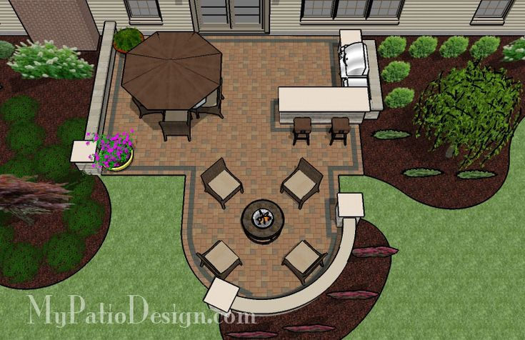 Patio for Backyard Entertaining | Outdoor Fireplaces & Fire Pits
