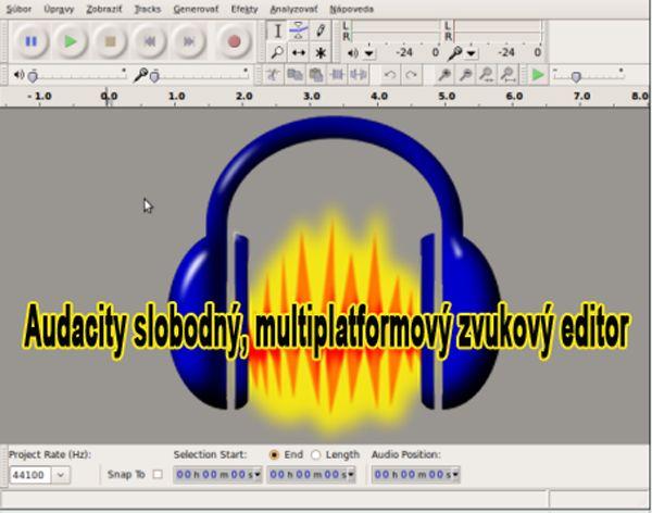 Zoznámte sa s prostredím aplikácie AUDACITY, Kkonfigurácia a princípy práce s programom, ako nahrávať, ako mixovať stopy a odstraňovať šum z nahrávo