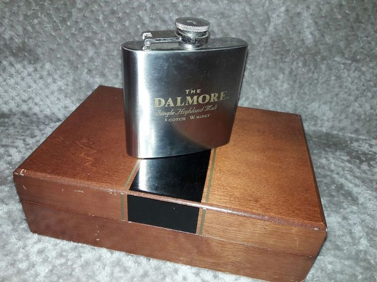 The Dalmore Whisky Flask - 6oz | Collectibles, Bottles & Insulators, Bottles | eBay!