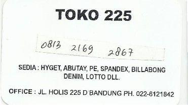 Toko 225