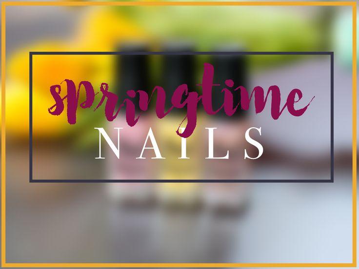 Springtime Nails with Nail Juice